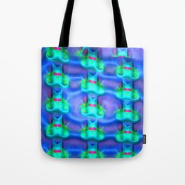 Jolly mouses pattern Tote Bag