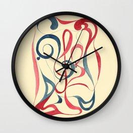 Contrasts Wall Clock