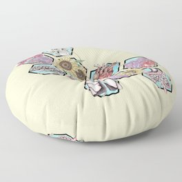 Garden of Health Floor Pillow