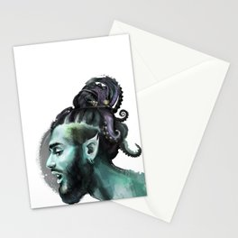 AfroAquaMan Stationery Cards