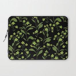 Nicotiana Lime Laptop Sleeve