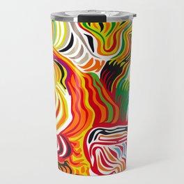 colored flow Travel Mug