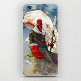 Somebody has to kill that whale iPhone Skin