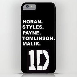 One Direction iPhone Case