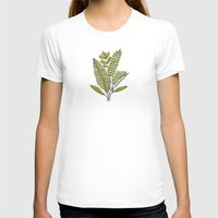 study T-shirts featuring Fern Study by Heather Dutton