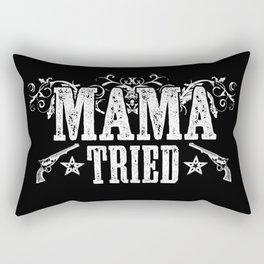 Mama Tried Rectangular Pillow