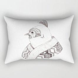 Robin of the night Rectangular Pillow