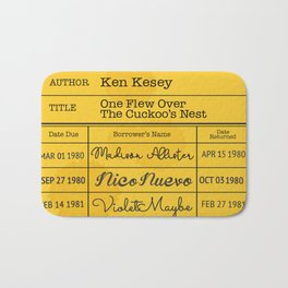 KEN KESEY (1962) Bath Mat