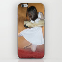 Alice, we're All mad Here iPhone Skin