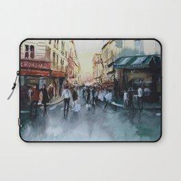 PARIS Street - Painting Laptop Sleeve