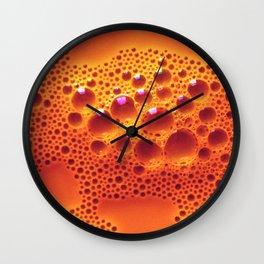 Orange Adagio Wall Clock