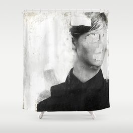 Faceless | number 01 Shower Curtain
