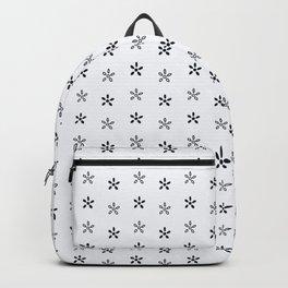 Turtle Flowers Backpack