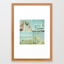 Summer Memories 1 Framed Art Print