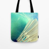 feather Tote Bags featuring Feather by Yilan