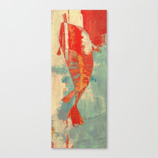 穏やかな海で泳ぐ (Swimming in Calm Waters) Canvas Print
