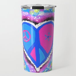 Peaceful heart Travel Mug