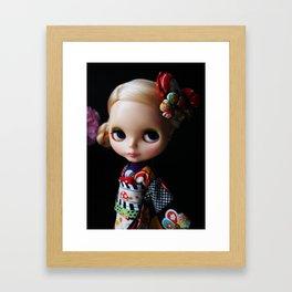 GEISHA BLYTHE DOLL KENNER Framed Art Print