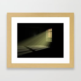 In 30 Days Time Framed Art Print