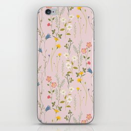 Dreamy Floral Pattern iPhone Skin