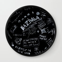 Big Bang Pattern Wall Clock