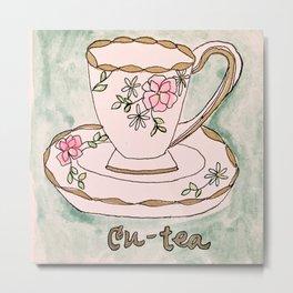 Cu-Tea  Metal Print