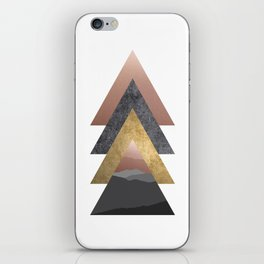 Valley, Scandinavian Modern Abstract iPhone Skin