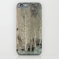 White Woods iPhone 6s Slim Case