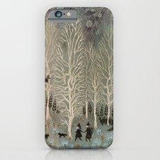 White Woods Slim Case iPhone 6s