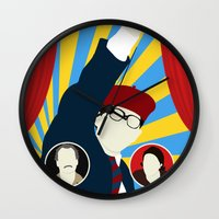 rushmore Wall Clocks featuring Rushmore by Bill Pyle