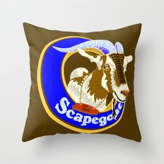 Scapegoat for Hire Throw Pillow