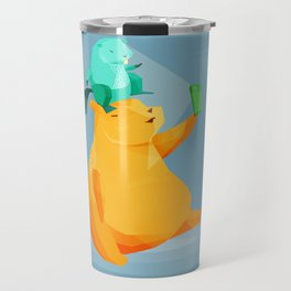 Selfie bear Travel Mug