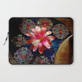 Cactus Flower By Design Laptop Sleeve