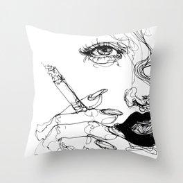 Smoke Throw Pillow
