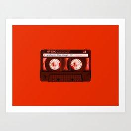 Mixtape: Love Songs Art Print