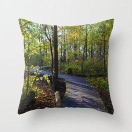 Boardwalks of southern Ontario, CA Throw Pillow