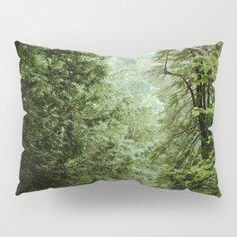Deep Green Forest Pillow Sham