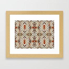 Moth Maze Framed Art Print