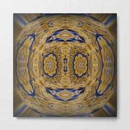 Jasper Vase Metal Print