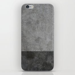 Concrete texture iPhone Skin