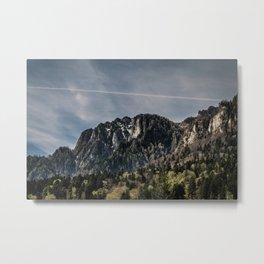 Bucegi Mountains Metal Print
