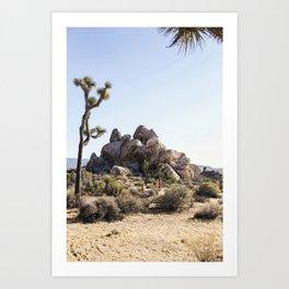 Rock Stacks Art Print