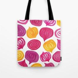 Spring Beet pattern Tote Bag
