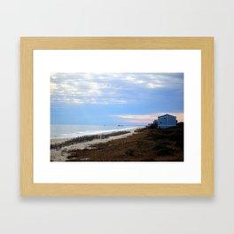 The Point At Oak Island Framed Art Print