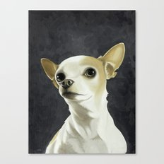 KC the Dog Canvas Print
