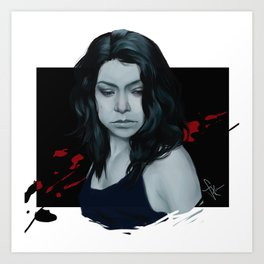 Sarah Manning Art Print
