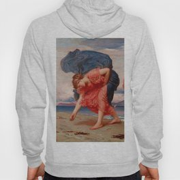"""Frederic Leighton """"Greek Girls Picking up Pebbles by the Sea"""" Hoody"""
