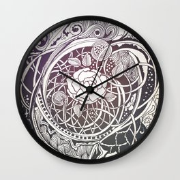In the middle Wall Clock