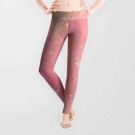 Rose Gold Galaxy Leggings