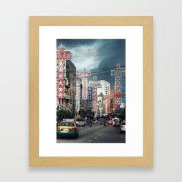Chinatown - Bangkok - Thailand Framed Art Print